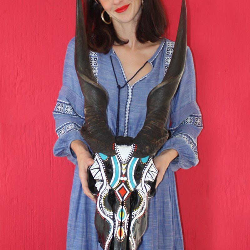 Africana Buy Kop Skull Art Online