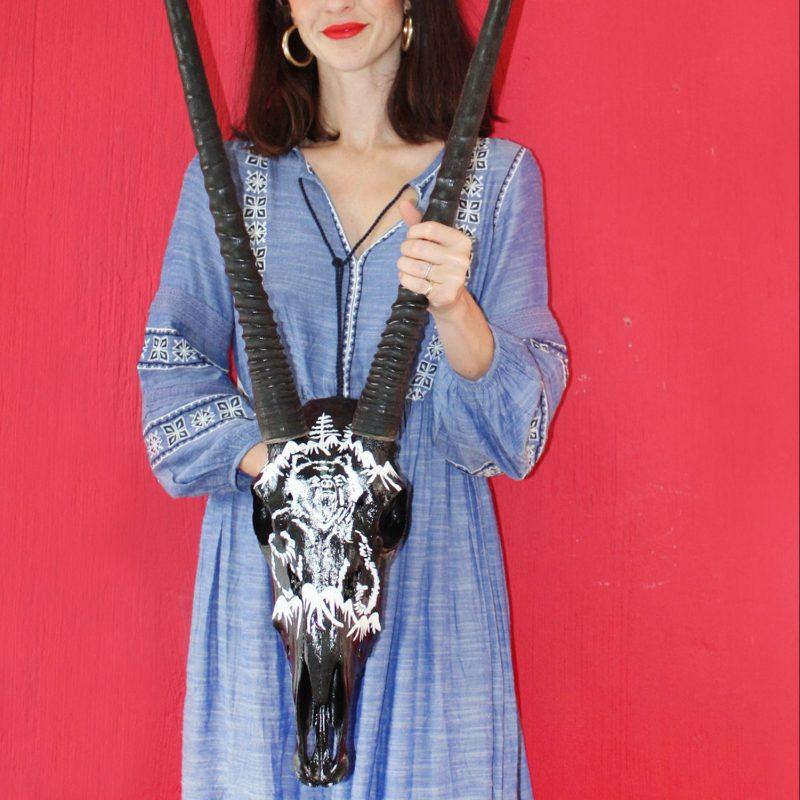 Bear Buy Kop Skull Art Decor Online Jaqueline Chantler